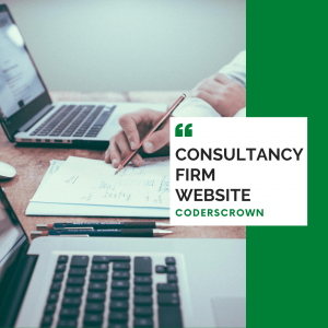 Consultancy firm website website design and development